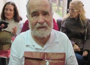 Josep quedó encantado con su jersey, aunque lo que más le gustaría es una moto Harley