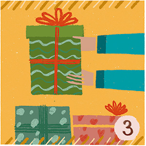 3. Compras el regalo, lo entregas a la entidad social y haces realidad el deseo de esa persona